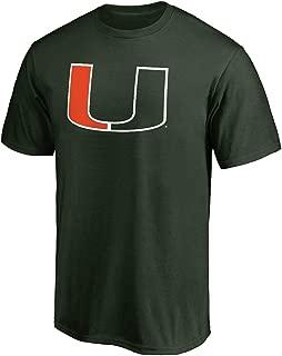 Profile Varsity University of Miami Men's Big & Tall Hurricanes Logo T-Shirt