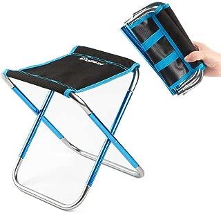 FOONEE Mini Campingstuhl Kleiner Klappstuhl Mini Tragbarer Stuhl für Strand, Picknick, Party, Camping, Grill, Angeln, Wandern