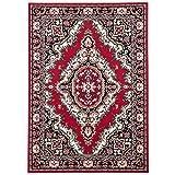 Orient Teppich Trendline Rot Keshan in 5 Größen - 2