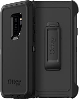 OtterBox Defender Series Case for Samsung Galaxy S9+ - Frustration Free Packaging - Black (Renewed)
