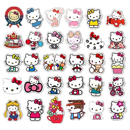 Brooches for Girls and Women Kerr's Choice Cute Lapel Pin Set for Clothes, Bags, Hello Kitty Backpacks Pin and Office Decoration Hello Kitty Accessories Room Decoration