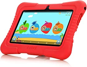 Ainol Q88X 7inch A50 Cortex-A7 Android8.1 OS BT4.0 1+8G Kids Tablet PC Pink GMS US (Red)