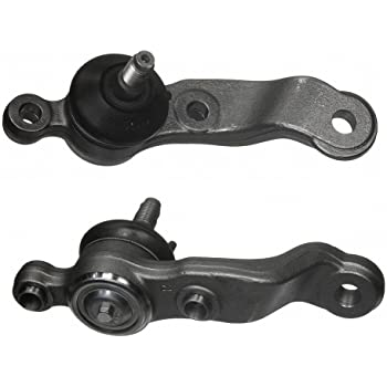 Detroit Axle 2wd Only For Driver and Passenger Side 2wd Lower Ball Joint Pair Set