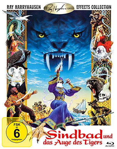 Sindbad und das Auge des Tigers (Sinbad and the Eye of the Tiger) [Blu-ray]