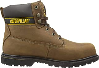 Caterpillar Holton S3, Chaussures de sécurité homme, Marron (Coffee Brown), 47 EU