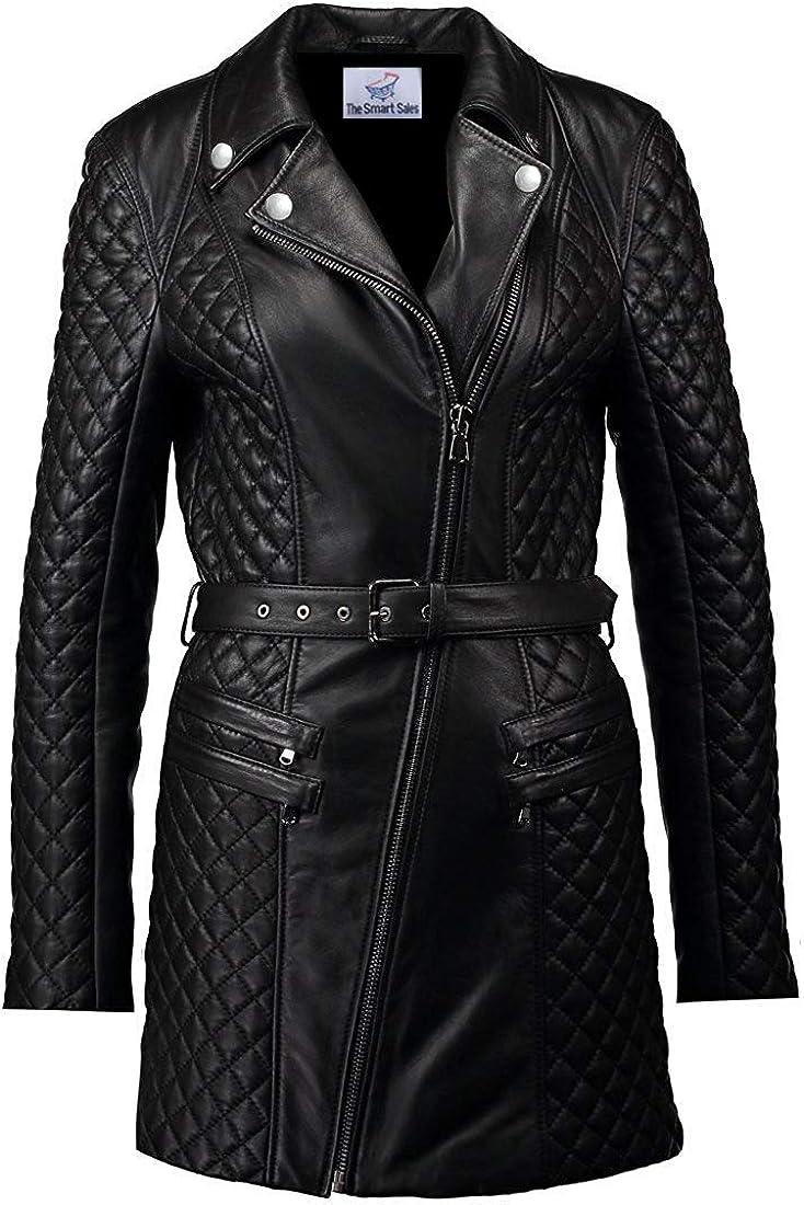 TheSmartSales Bubble Style Faux Leather Jacket for Women