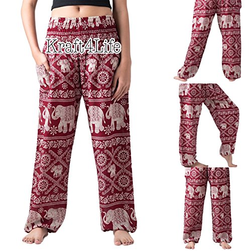 Elephant Pants Women's Comfy Pants Elephant Design