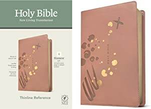 NLT Thinline Reference Holy Bible (Red Letter, LeatherLike, Brushed Pink): Includes Free Access to the Filament Bible App Delivering Study Notes, Devotionals, Worship Music, and Video PDF