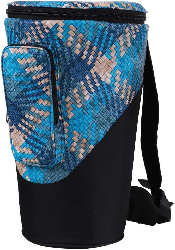 国内在庫 YUEKO Djembe Bag Sturdy Shoulder Drum 付与 African Durable Straps and
