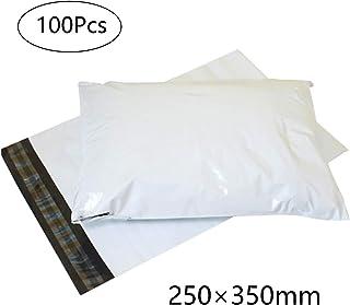 宅配 ビニール袋 宅急便コンパクト 梱包材 opp袋 封筒 60ミクロン 梱包 クリックポスト クッション 厚み薄手 強力テープ付き a4 25x35cm 100枚