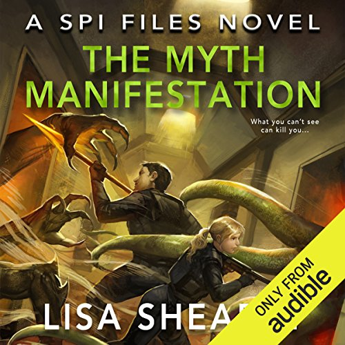 The Myth Manifestation audiobook cover art