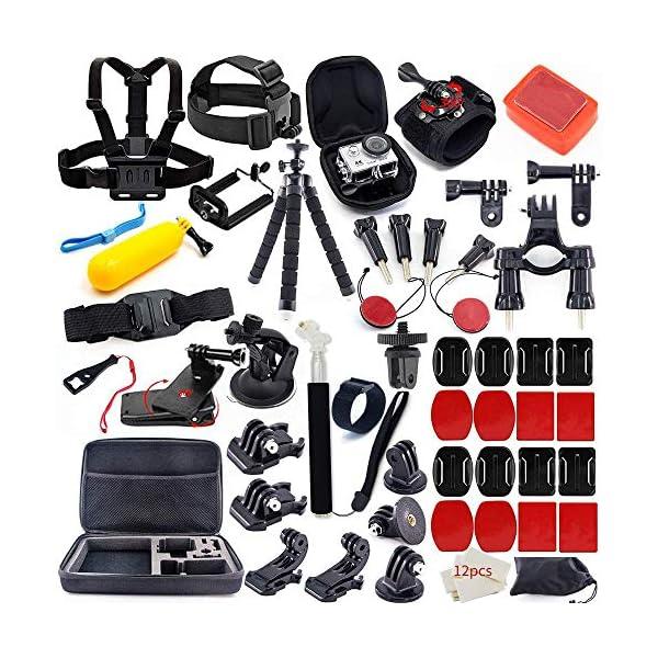 MOUNTDOG Action Camera Accessories Kit for GoPro Hero 7 6 5 4 3+ 3 Hero Session 5...