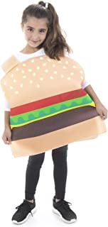 Cheese Burger Halloween Children's Costume - Funny Food Suits for Kids