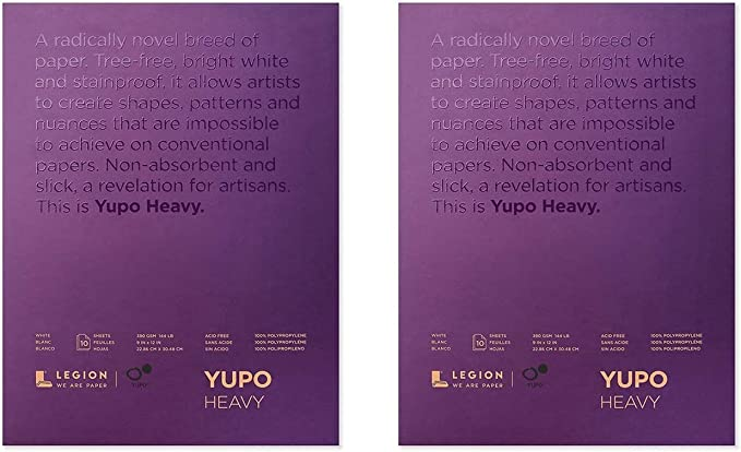Multi Yupo Paper L21-YUP389WH1114 Painting and Drawing 2 рack