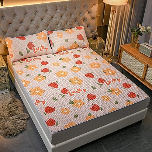 BOLO Sábanas de cama extraprofundas de algodón, 90 x 200 cm+48 x 74 cm2 unidades