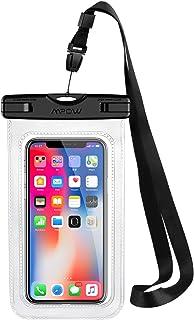 1014930db7c Funda Impermeable Movíl, Mpow Bolsa Impermeable Movil Transparente, 6.5in  para iPhone XS/