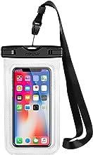 Mpow Pochette Étanche Smartphone Certifiée IPX8, Housse Téléphone Protection Universelle jusqu'à 6.5'' Sac Protection pour iPhone X/XR/XS/XS MAX/8/7/6/6s/Galaxy S10/S9/S8/S7/S7edge/Mate 20/P30/P20/P10