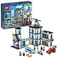 LEGO City Police Station 60141 Building Kit with Cop Car, Jail Cell, and Helicopter, Top Toy and Play Set for Boys and Girls (894 Pieces) (Discontinued by Manufacturer)