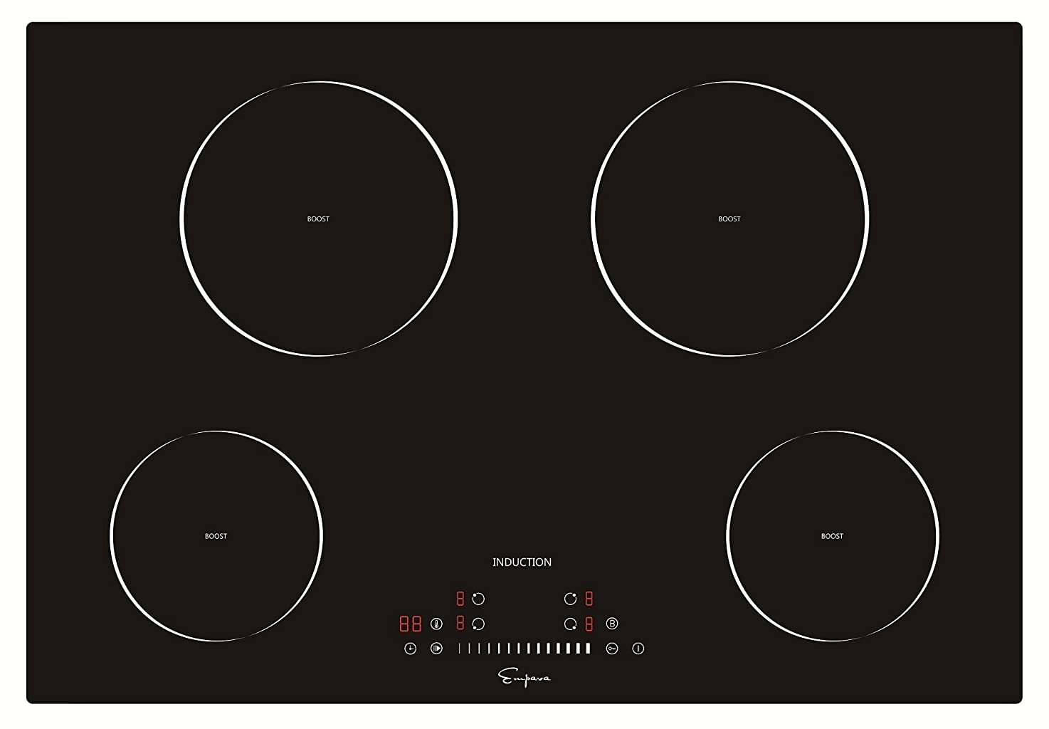 "Empava 30"" Induction Cooktop Electric Stove Black Vitro Ceramic Smooth Surface Glass EMPV-IDC30 httgvtmkhpubc2"