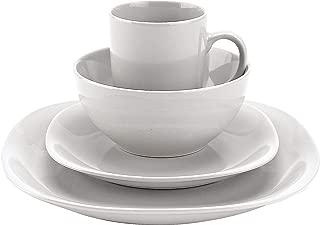 Thomson Pottery 16-pc. White Quadro Set One Size White