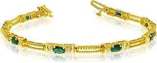 Best yellow gold tennis bracelets Reviews