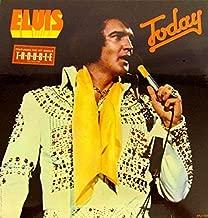 Elvis Presley - Today - vinyl LP record - w/sticker - RCA APL1-1039 original US pressing 1975