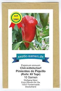 Pimiento Piquillo - leichte Schärfe Chili - 10 Samen