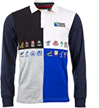 Canterbury 20 Nations Rugby Jersey Harlequin L/S - Navy 70R 6
