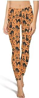 Yujianlfdgue Athletic High Waist Halloween Decor Leggings Pretty Women Tummy Control Yoga Pant