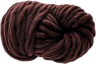 250g bruin garen wol, breien deken dik garen, zachte dikke arm zwervende omvangrijke wol garens, DIY gehaakte draad breien...