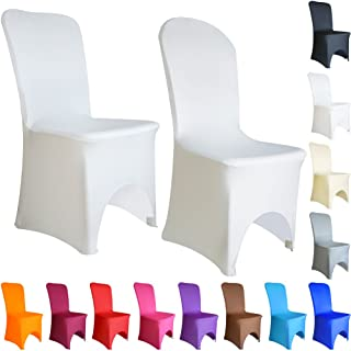 Time to Sparkle TtS Lot de 50 Housse de Chaise Extensible en élasthanne Lycra Couverture Chaise pr Décoration Mariage Céré...