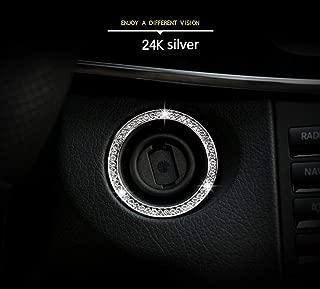 Topauto para Land Rover Discovery 4 LR4 Interior Puerta manija Panel Trim ABS Negro Madera Grano m/ás Nuevo 4 Piezas