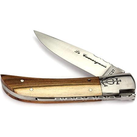 Le Camarguais 12 cm Taschenmesser Griff Pistazie Messer Frankreich Camargue