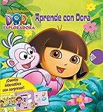Aprende con Dora: Cuento interactivo con sorpresas (Dora la exploradora. Libro regalo)