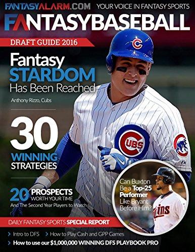 Fantasy Alarm 2016 MLB Draft Guide: Presented by Fantasy Alarm (English Edition)