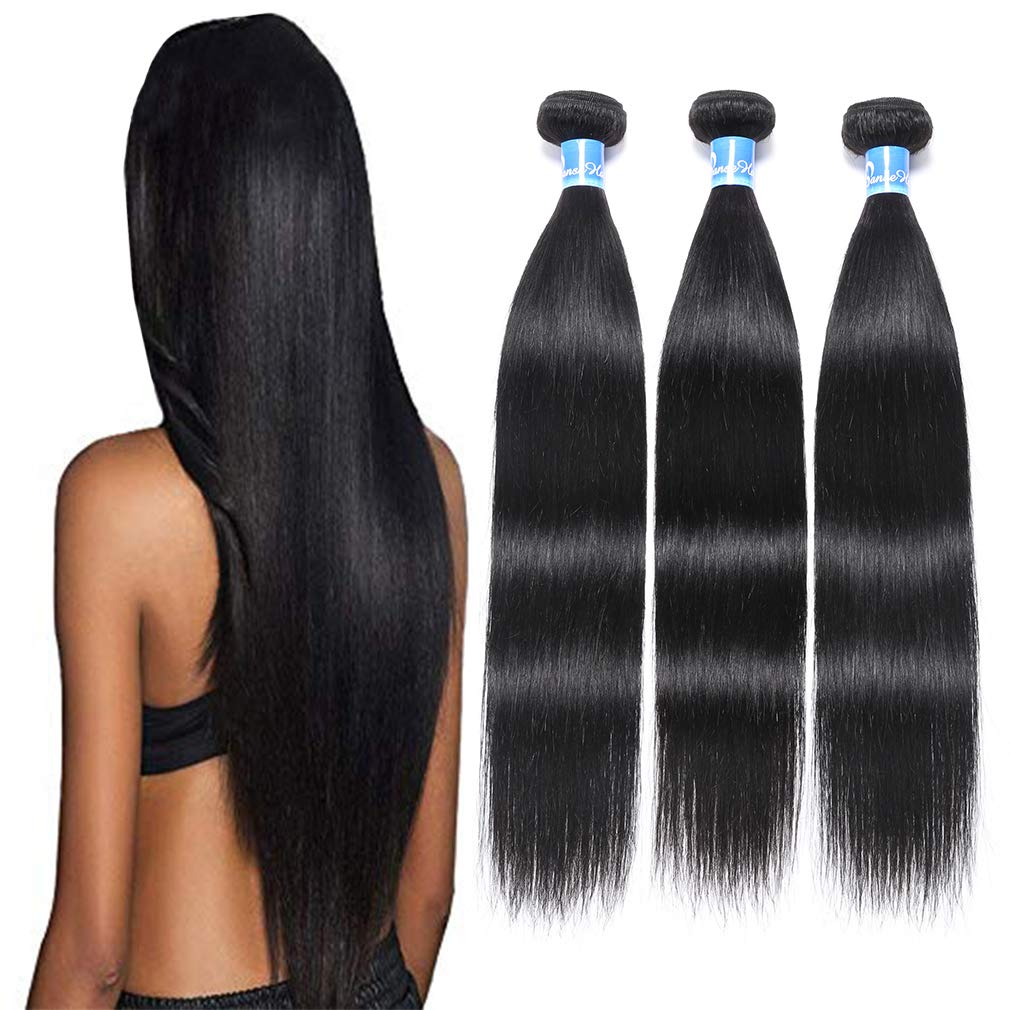 10A Daily bargain sale Peruvian Virgin Human Hair Waveing Silky 100% Outlet ☆ Free Shipping Straight