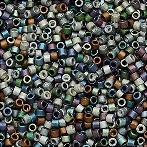 Miyuki Seed Beads 22g tube 8//0 Sea Foam Lined Crystal