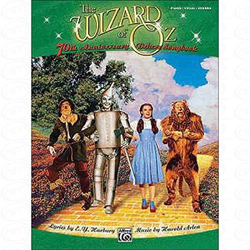 Preisvergleich Produktbild THE WIZARD OF OZ - 70TH ANNIVERSARY DELUXE SONGBOOK - arrangiert für Songbook [Noten / Sheetmusic] Komponist : ARLEN HAROLD