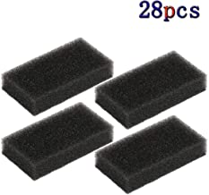 28-Pack Reusable CPAP Foam Filters - CPAP Filters Compatible with Philips Respironics M Series, PR System One and SleepEasy Series