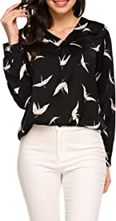 blouse with pattern