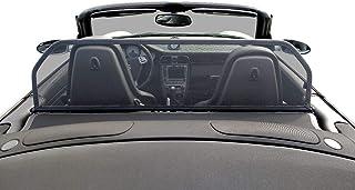 Realizzato su Misura per Porsche Cabriolet Compatibile con Porsche 911 996-997 Aperta Deflettore Antivento Marrone