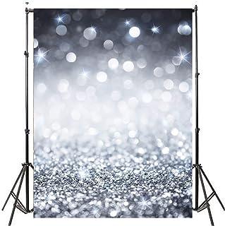Werse 5x7ft / 3x5ft Retro Glitter Thin Vinilo Photography Backdrop Background Studio Photo Prop - 90 * 150cm
