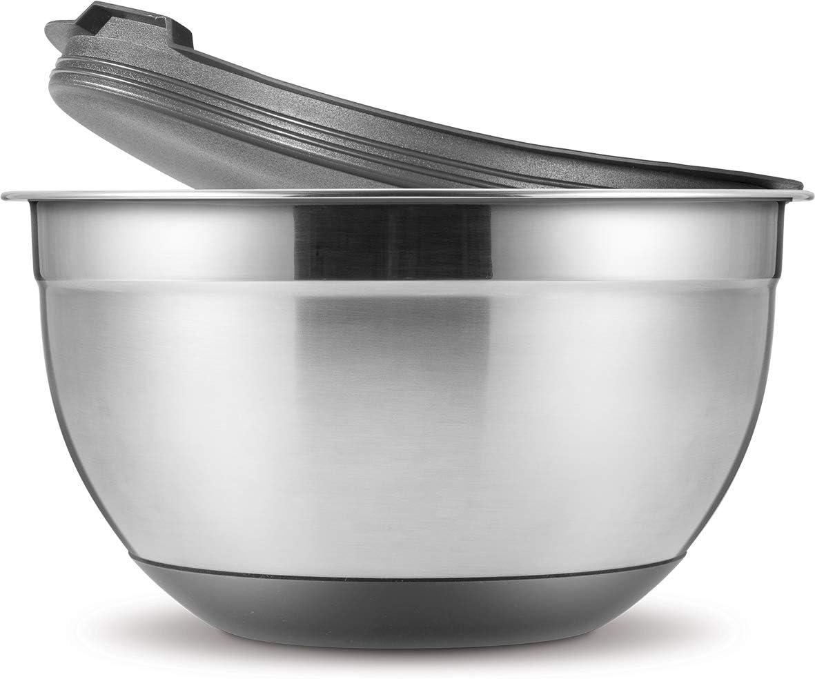 Tescoma GrandCHEF 428600 Bowl 激安 with 新発売 Lid - cm Grey 16 1.5 L