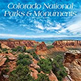 Colorado National Parks & Monuments 2020 12 x 12 Inch Monthly Square Wall Calendar, USA United States of America Scenic Nature