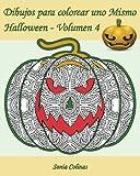 Dibujos para colorear uno Mismo - Halloween - Volumen 4: 25 calabazas alocadas para colorear: Volume 4