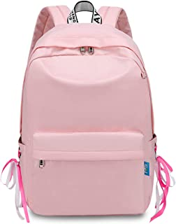 Mujer Mochila Mochilas Tipo Casual Niña Bolsas Escolares Bolsa de Hombro Casual Daypacks Bolsa de Viaje Adolescente School Bag para Outdoor Viaje Compras Picnic Excursionismo Rosa Claro