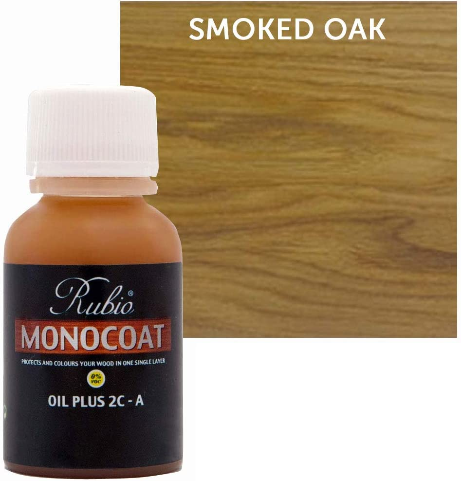 Rubio Limited time for free shipping Monocoat Oil Plus 2C-A Sample Oak Smoked Wood 20ml Purchase Stain