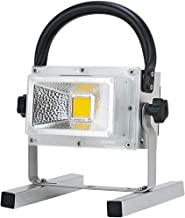 LED Floodlight Work Light, Multifunctional Portable Rechargeable Battery Spotlight, Outdoor IP65 Waterproof Camping Lamp, ...