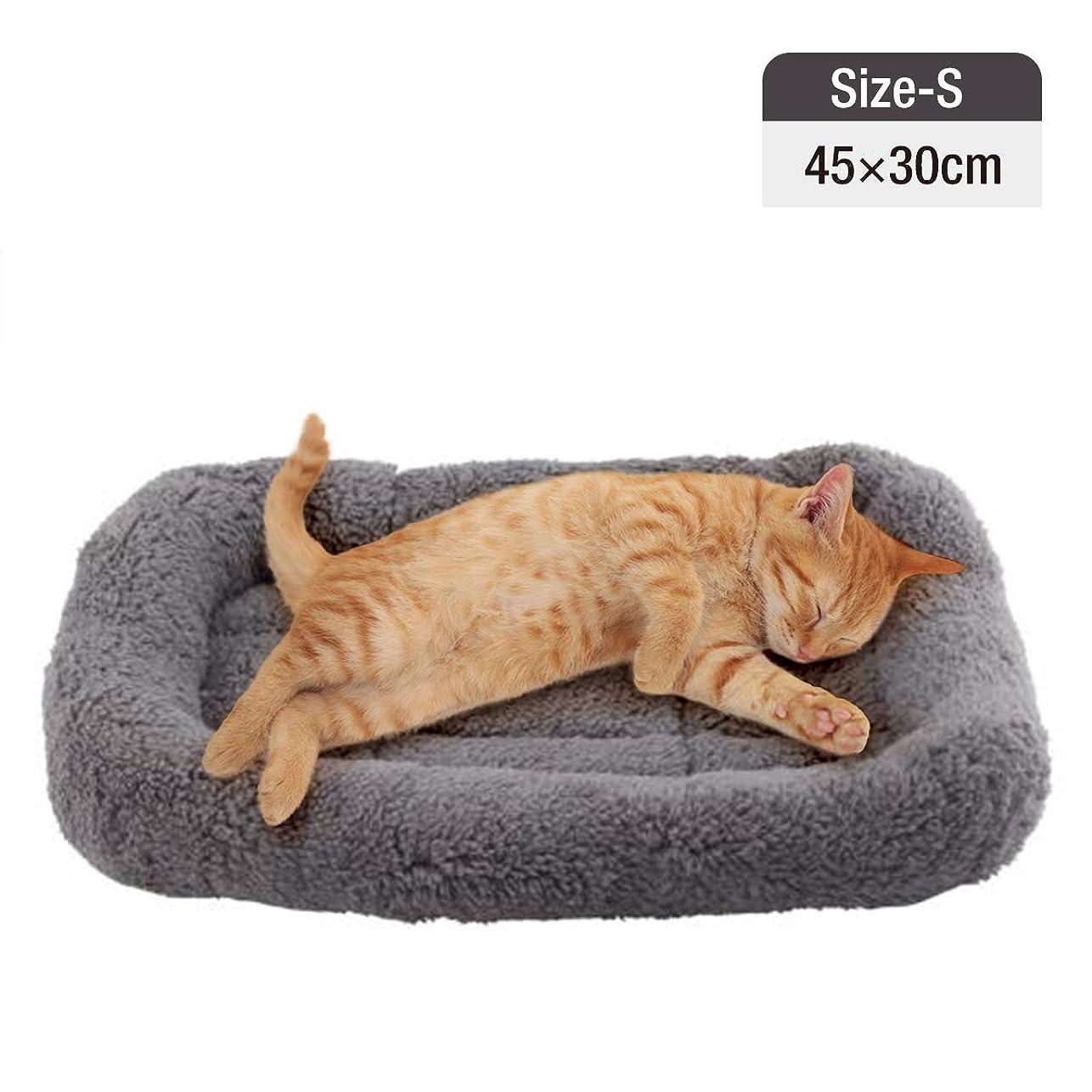 ハウスほこりっぽい現金Namsan 犬ベッド ペットベッド 犬マットベッド マット犬猫ドァグレー 平方 ペットソファ(S)