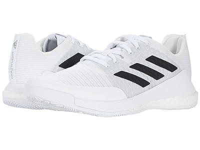 adidas Crazyflight (White/Black/Grey) Women